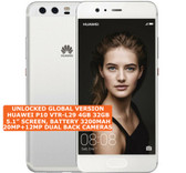 huawei p10 vtr-l29 dual sim silver 4gb 32gb octa core android 4g lte smartphone
