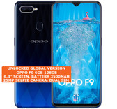 oppo f9 6gb 128gb octa-core 16mp fingerprint 6.3 inch android smartphone 4g blue