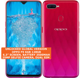 oppo f9 6gb 128gb octa-core 16mp fingerprint 6.3 inch android smartphone 4g red