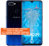 oppo f9 4gb 64gb octa-core 16mp fingerprint 6.3 inch android smartphone blue