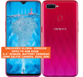 oppo f9 4gb 64gb octa-core 16mp fingerprint 6.3 inch android smartphone red