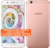 "oppo f1s 3gb 32gb octa-core 13mp fingerprint 5.5"" android smartphone rose gold"