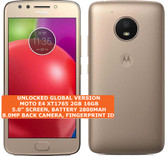 "motorola moto e4xt1765 2gb 16gb quad-core 8mp fingerprint 5.0"" android 4g gold"
