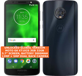 "motorola moto g6 xt1925 3gb 32gb octa-core 12mp fingerprint 5.7"" android black"