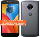 motorola moto e4 plus xt1776 3gb 16gb quad-core 13mp fingerprint android black