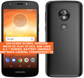 "motorola moto e5 play xt1921 2gb 16gb quad-core 8mp 5.2"" android smartphone black"