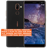 "nokia 7 plus ta-1055 4gb 64gb octa-core 13mp fingerprint 6.0"" android lte black"
