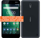 nokia 2 ta1007 16gb quad-core 8.0mp camera 5.0 inch android smartphone lte black