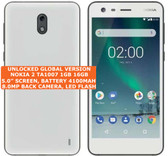 nokia 2 ta1007 16gb quad-core 8.0mp camera 5.0 inch android smartphone lte white