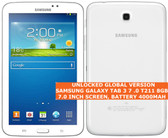 "samsung galaxy tab 3 7.0 t211 8gb dual-core 3.15mp wifi 7"" android tablet white"