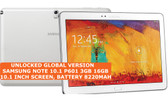 "samsung note 10.1 p601 3gb 16gb octa-core 8mp 10.1"" wifi android tablet white"