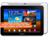 """samsung galaxy tab 8.9 p7300 16gb dual-core 8.9"""" wifi gps android tablet white"""