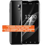 "k-touch i10s 16gb quad core 5.0mp camera face id 3.46"" android smartphone black"