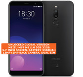 "meizu m6t 3gb 32gb octa-core 13mp fingerprint id 5.7"" android smartphone black"