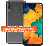 "samsung a40s sm-a3050 6gb 64gb octa core 13mp fingerprint 6.4"" android lte black"