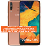 "samsung a40s sm-a3050 6gb 64gb octa core 13mp fingerprint 6.4"" android lte gold"