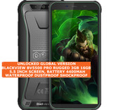 "blackview bv5500 pro rugged 3gb 16gb waterproof 8mp face id 5.5"" android green"
