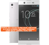 sony xperia xa1 g3226 ultra dual 4gb 64gb 23mp hdr android lte smartphone white