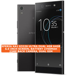 sony xperia xa1 g3226 ultra dual 4gb 64gb 23mp hdr android lte smartphone black