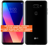 lg v30 vS996 4gb 64gb octa-core 16mp fingerprint id android smartphone 4g black