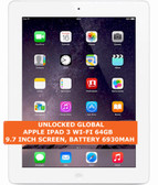 apple ipad 3 wi-fi 64gb dual-core 5.0mp camera 9.7 inch ios tablet pc white