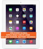 apple ipad 3 wi-fi 16gb dual-core 5.0mp camera 9.7 inch ios tablet pc white