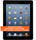 apple ipad 3 wi-fi 32gb dual-core 5.0mp camera 9.7 inch ios tablet pc black