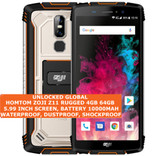"homtom zoji z11 rugged 4gb 64gb waterproof 13mp face id 5.99"" android 8.0 orange"