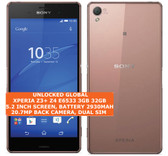 "sony xperia z3 plus z4 e6533 3gb 32gb octacore 20.7mp hdr 5.2"" android 4g copper"