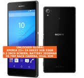 "sony xperia z3 plus z4 e6533 3gb 32gb octacore 20.7mp hdr 5.2"" android 4g black"