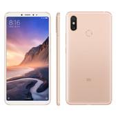 "xiaomi mi max 3 6gb 128gb gold octa core 6.9"" 12mp dual sim miui smartphone"
