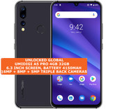 "umidigi a5 pro 4gb 32gb octacore 16mp face id 6.3"" android smartphone space grey"
