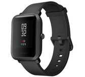 "xiaomi huami amazfit bip2 waterproof heart rate 1.28"" screen smart watch black"