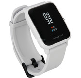 "xiaomi huami amazfit bip2 waterproof heart rate 1.28"" screen smart watch white"