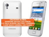 samsung galaxy ace s5830 qualcomm msm7227 5mp led flash android smartphone white