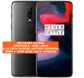 oneplus 6 8gb 128gb octa-core 20mp fingerprint android smartphone midnight black