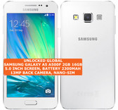 "samsung galaxy a5 a500f 2gb 16gb quad-core 13mp 5.0"" android smartphone white"