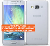 samsung galaxy a3 a300f 16gb quad-core 8mp camera 4.5 android smartphone 4g silver