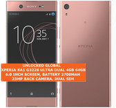 sony xperia xa1 g3226 ultra dual 4gb 64gb 23mp hdr android lte smartphone pink