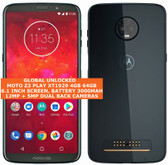 "motorola moto z3 play xt1929 4gb 64gb 12mp 6.1"" android smartphone deep indigo"