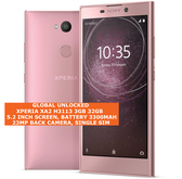 "sony xperia xa2 h3113 3gb 32gb octa-core 23mp fingerprint 5.2"" android 4g pink"