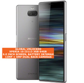 """sony xperia 10 i3113 3gb 64gb octa-core 13mp fingerprint 6.0"""" android lte silver"""
