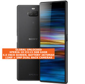 "sony xperia 10 i3113 3gb 64gb octa-core 13mp fingerprint 6.0"" android lte black"