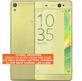 "sony xperia xa ultra f3216 3gb 16gb 21.5mp camera 6.0"" android smartphone gold"
