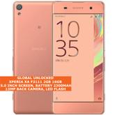 "sony xperia xa f3111 2gb 16gb octa-core 13mp camera 5"" android smartphone pink"