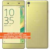 "sony xperia xa f3111 2gb 16gb octa-core 13mp camera 5"" android smartphone gold"