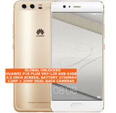 "huawei p10 plus vky-l29 6gb 64gb 20mp fingerprint 5.5"" android smartphone gold"