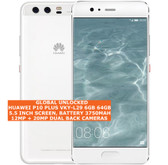 "huawei p10 plus vky-l29 6gb 64gb 20mp fingerprint 5.5"" android smartphone white"