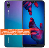 huawei p20 eml-l29 4gb 128gb octa core 20mp face id 5.8 android smartphone twilight