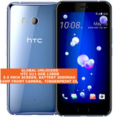 htc u11 6gb 128gb dual sim octa-core 12mp fingerprint android smartphone silver